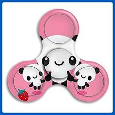 Cool Fidget Spinners, Metal Fidget Spinner, Tri Spinner, Hand Spinner, Figet Toys, Pink Panda, Add Adhd, Anxiety, Stress