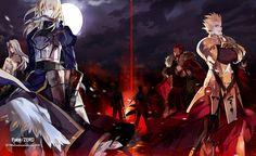 Nonton Fate/Zero subtitle indonesia.