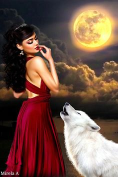 Romantic Drawing, Wolves And Women, Wolf Painting, Wolf Pictures, Wolf Spirit, Galaxy Art, Fascinator, Fairy Tales, Mario