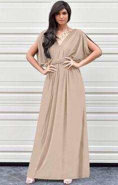 2cffadb70f5 SHELBY - Sleeveless Long Comfortable Maxi Dress Vacation Evening Sun