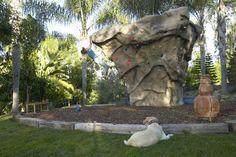 Backyard boulder!