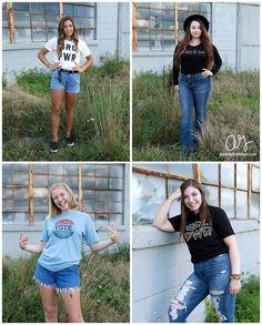 Girl Power, Senior Portraits, Photo Shoot, Senior Girl, New Castle Indiana Indiana, Power Photos, Senior Girls, High School Seniors, Newcastle, Senior Portraits, Girl Power, Photo Shoot, T Shirts For Women