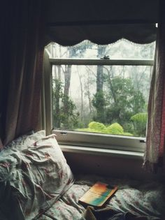 ambling:  I took this one afternoon while I was staying in the mountains. It was really cold and rainy outside and I was reading one of my favourite books while listening to lovely music.