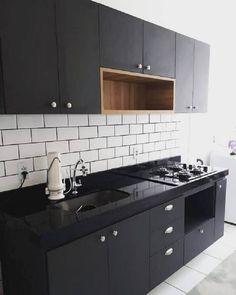 Kitchen Cabinet Interior, Kitchen Room Design, Home Room Design, Home Decor Kitchen, Small House Interior Design, Interior Design Kitchen, Small Kitchen Remodel Cost, Rideaux Design, Contemporary Kitchen Design