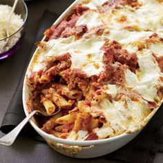 Baked Penne with Sausage and Creamy Ricottae - Click for recipe and to add to Shopper
