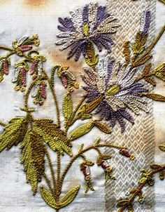 Embroidery - #Brazilian -- #Embroider Flowers