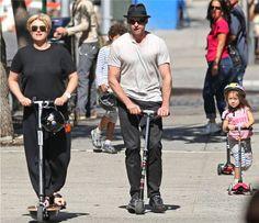 Jackman family outing