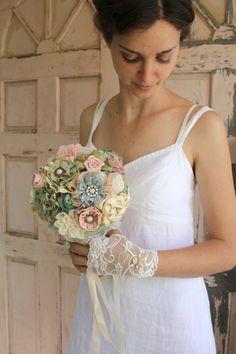 40 Chic Vintage Bouquets for Beautiful Brides