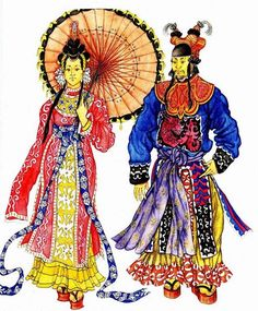 История моды национального костюма китая