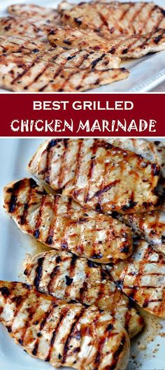 The trick to a tender and scrumptious steak is to marinade for about 8 hours or overnight. Place your marinade in a container and location the steaks on the top to coat the bottom of the steaks. Best Grilled Chicken Marinade, Chicken Marinade Recipes, Grilling Recipes, Meat Recipes, Cooking Recipes, Healthy Recipes, Grilled Meat, Grilled Chicken Seasoning, Best Grill Recipes