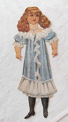 Vintage Victorian Paper Doll Princess Hilda Raphael Tuck Prince Princess | eBay
