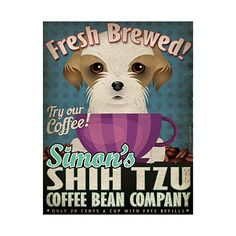 pink puppy printed wallpaper - Google Search   Shih Tzu decor ...