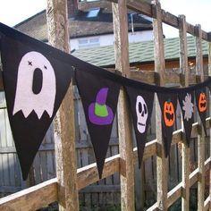 Halloween Bunting  #Boden #magicalmenagerie