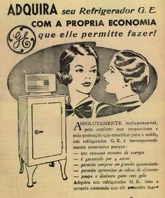 Iba Mendes: Anúncios antigos de Geladeiras e Refrigeradores
