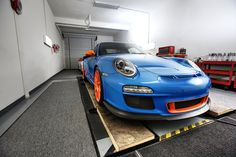 Gulf color scheme on a GT3RS