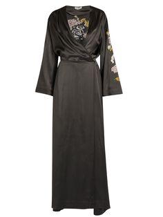 Faye embroidered satin dress | Attico | MATCHESFASHION.COM US