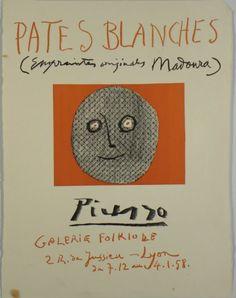 Original Künstlerplakat Picasso Original artist poster Picasso Affiche original…