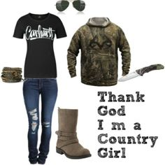 country girl outfits - Google Search like everything but the shoes.