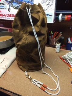 DIY Ditty Bag - Completed Ditty Bag