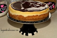 ultimate cheesecake topped w/ smoothest glaze