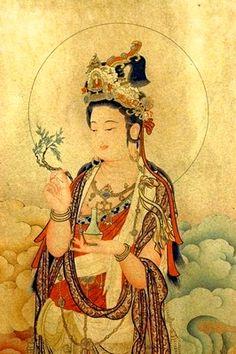 Kuan Yin scroll