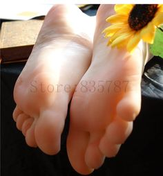 91.90$  Buy now - http://alii86.worldwells.pw/go.php?t=1711050091 - 20.5cm 36# Silicone pussy fetish Fake Foot,Inner-Bone Inside,Toe Move Freely,Feet/Shoe Model F13 91.90$