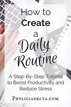 How to build a routine that reduces stress and boosts productivity. Evening Routine, Night Routine, Morning Routines, Morning Routine Printable, Bedtime Routine, Time Management Tips, Stress Management, Time Management Printable, Daily Routine Schedule