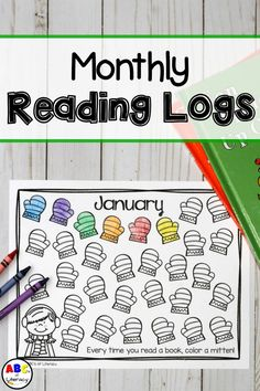 These Monthly Reading Logs will making reading at home fun for your students as they take charge of tracking the number of books that they read every month. Kindergarten Reading Log, Kindergarten Homework, Kindergarten Lesson Plans, 4th Grade Reading, Preschool Classroom, Preschool Activities, Guided Reading, Classroom Decor, Home Reading Log