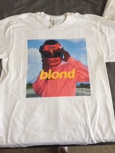 Blonde. Frank Ocean. Adult XL shirt. Boys don't cry. Blond | Clothing, Shoes & Accessories, Men's Clothing, T-Shirts | eBay!