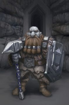 Dwarf: These craftsmen and warriors are as strong as the steel they forge. For centuries they have held back the evil from the underground kingdom of Anher'even . Their defense combat has become the stuff of Legends.