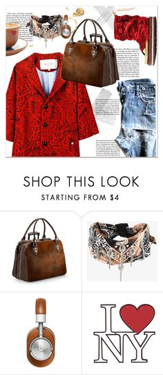 """""""BANDANAS"""" by dragananovcic ❤ liked on Polyvore featuring Aspinal of London, DANNIJO and Master & Dynamic"""