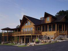 Showcase Log Homes - Modified Bonanza - 04268