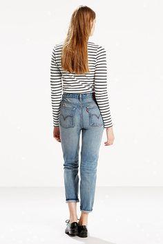 mom jeans jeans and levis on pinterest. Black Bedroom Furniture Sets. Home Design Ideas