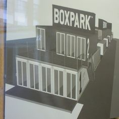 BOXPARK: container shopping mall