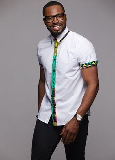 Wear something different with our Zaire African print button-up shirt. It is a bold and stylish piece! Shop D'IYANU today for this and more! South African Traditional Dresses, African Men Fashion, Print Button, Man Fashion, Black Man, African Style, Fashion Prints, Groomsmen, Shirt Style