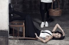 UPSIDE DOWN editorial, AMISH collection by Pamela Fornari, Tiziano Toma photography