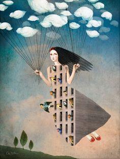 Catrin Welz-Stein ~ Nierealne Digital Art | Tutt'Art @ | Pittura * scultura * Poesia * Musica |
