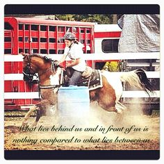 Barrel Racing!<3