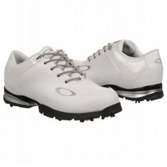 Mens Oakley EC1297596 Golf Cleats White Leather - ONLY $150.00 Sunglasses Price, Oakley Sunglasses, Oakley Watches, On Shoes, Dress Shoes, Oakley Golf, Golf Cleats, Oakley Frogskins, Skechers