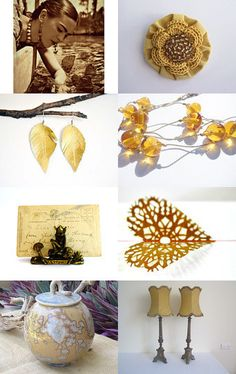 Rustic Gold by Chrissy Mason on Etsy--Pinned with TreasuryPin.com