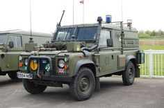 British Army Land Rover Defender.