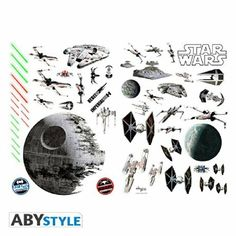 The STAR WARS stickers: Battleships!Dimensions: x Repositionable wall stickers Star Wars Stickers, Wall Stickers, Wall Decals, Star Wars Disney, Star Wars Bedroom, Space Battles, Movie Gift, Wall Tattoo, Quirky Gifts