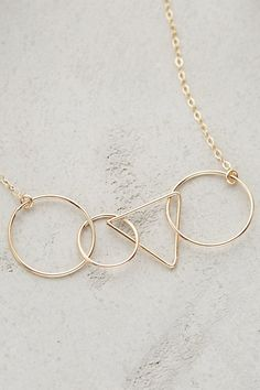Geometry Necklace - anthropologie.com