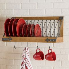 Plate Racks In Kitchen, Plate Rack Wall, Diy Plate Rack, Plate Shelves, Plate Storage, Wooden Plate Rack, Kitchen Cupboard, Corner Shelves, Kitchen Cabinets
