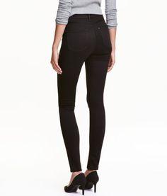 Shaping Skinny High Jeans   Black/Stay black washing   Ladies   H&M US
