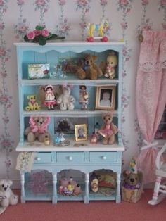 toy shelves - also see full room box