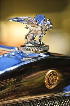1929 Gardner Series 120 Eight-in-line Roadster Hood Ornament Photograph by Jill Reger