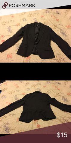 Black blazer New York n company black blazer, size 14 Jackets & Coats Blazers