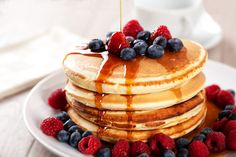 How to pancakes? Into a wonderful flavor especially when served with milk and honey, and especially the literal how to pancakes . How To Pancakes, Pancakes For Dinner, No Egg Pancakes, Blueberry Pancakes, Protein Pancakes, Protein Breakfast, Bolo Pullman, Pancake Proteine, Pancake Calories