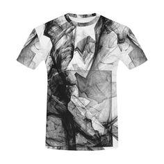 Fractal Smoke Men's T-Shirt